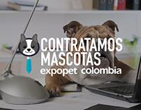 Expopet, Corferias - Contratamos mascotas