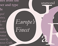 Typography assignment - Garamond