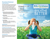 Medical Brochure for Allergies