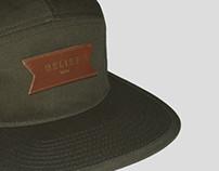 'QNS' 5 Panel Hat