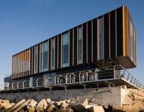 Edificio de Servicios Náutico Deportivos de Portonovo