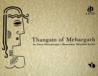 Thangam of Mehargarh | Paper Cut Illustrations