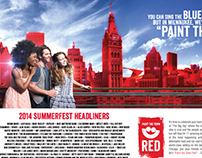 "Summerfest ""Paint the Town Red"""