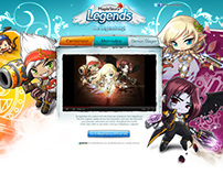 MapleStory - Legends Teaser Site