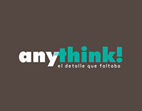 Logotipo & imagen corporativa -Anythink-