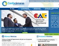Confecámaras - sitio web