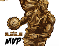Lebron James 4x MVP!