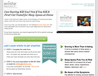 Aviisha PPC Landing Pages