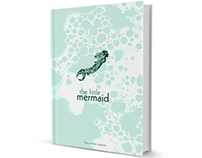 The Little Mermaid // Book Cover
