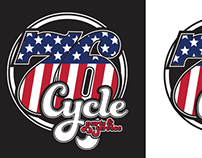 76 Cycle - Parts logo