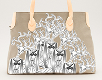Doe's of the Eternal Forest Tote