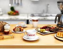 Anúncio + Ambiente 3D - Café Cafuso