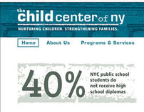 THE CHILD CENTER OF NY -  web design