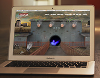 Haunted House Attraction Design / Web / Interactive