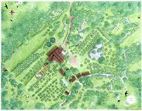 Plan des Jardins, Conservatoire de variétés fruitières