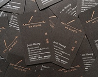 WE STUDIO Business Cards|2015