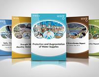 Annual Report Book Cover Design Theme