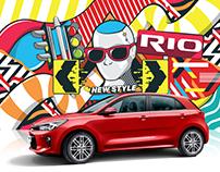 ART KIA RIO 2018