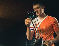 Sjef van den Berg, Olympic archer
