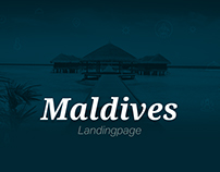 Maldives - travel landingpage