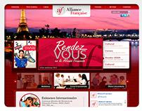 """Site """"Alianza Francesa"""""""