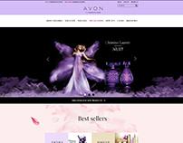 Avon Homepage Redesign