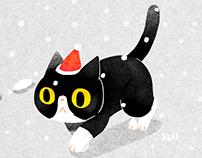 Cat walk (GIF)