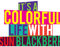 SUN BLACKBERRY Colorful Life