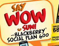 SUN BLACKBERRY Plan 600 Ad