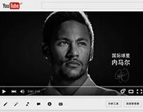 Neymar da Silva Santos Júnior TVC for Castrol in china