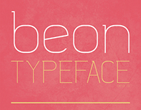 Beon Typeface