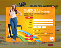 SUN BROADBAND Portal Site