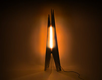 Scorch – A campfire-inspired mood lamp.