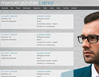 Website Tenor Manuel Günther
