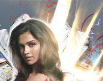 T3 Magazine Cover Story with Deepika Padukone