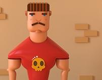 Bouncer(character design)