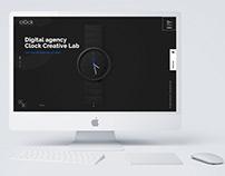 Clock Creative Lab – Corporate Website