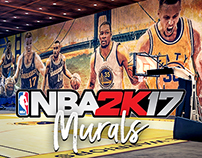 NBA 2K17 MyCourt Murals