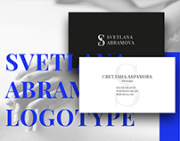 Visual identity for Svetlana Abramova