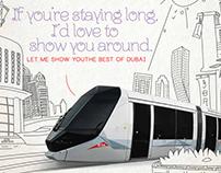RTA Tram campaign