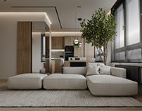 """Apartment in Moscow ZHK """"Beregovoy"""""""
