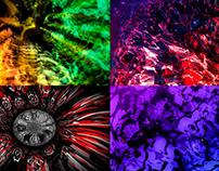 Sunset Color - Vj Loop Pack (6in1)