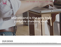 StandStand Website Redesign