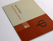 Φ: Business card design (2013)