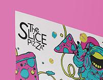«The Slice Pizza» Branding