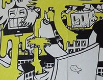 Liberdade 229 - Wall Painting