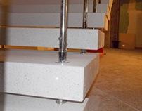 stair quartz