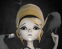 Anarkitty's Crow Girl (Work in Progress)