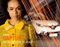 RENAULT CAPTUR // Motion design