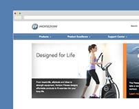 Horizon Fitness World Website